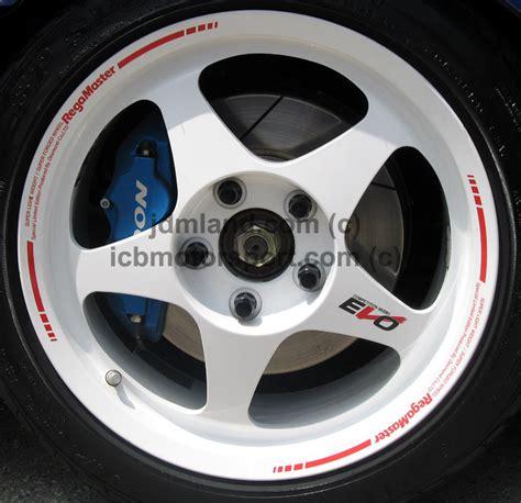 desmond regamaster evo wheel stickers