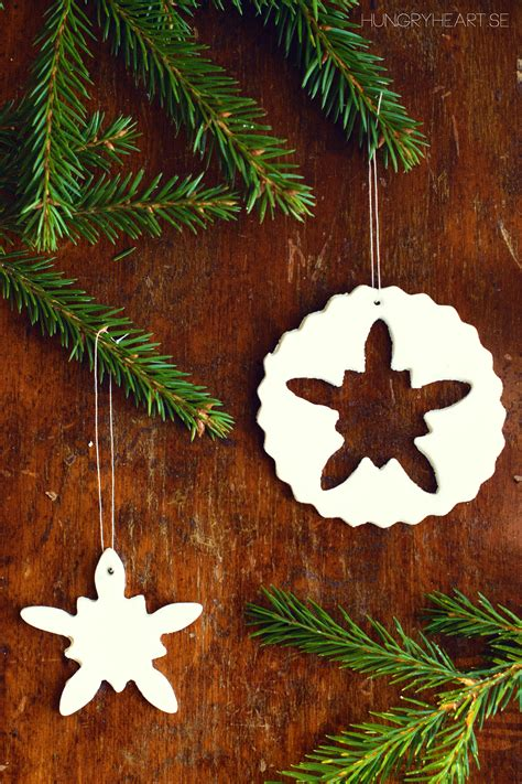 diy homemade air dry clay ornaments hungry heart