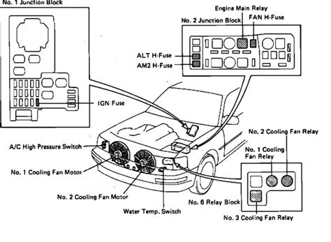 1992 Lexu Ls400 Fuse Box Diagram by Checking Fuses Where Is The Fuse Bx Located On A Lexus Ls 400