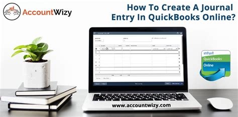 create  journal entry  quickbooks