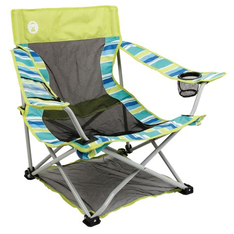 Low Chairs Kmart by Coleman Low Deluxe Chair Citrus