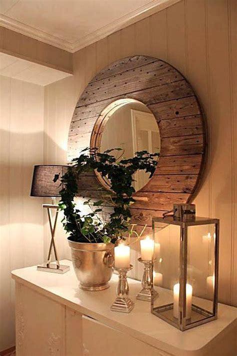 relooker un bureau en bois 10 idées récup de touret pour le décor astuces bricolage
