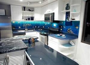 20 best images about beach ocean theme kitchen and living With kitchen colors with white cabinets with tropical fish wall art