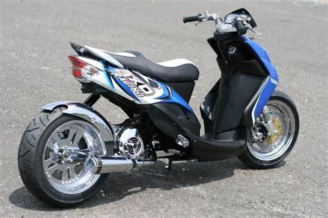 Modifikasi Motor Metik by Modifikasi Motor Metik Modifikasi Motor Kawasaki Honda