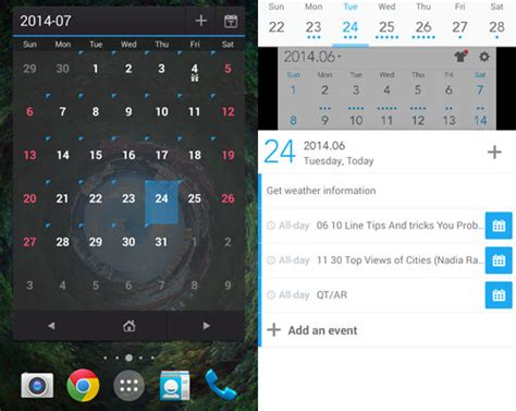 top 5 android calendar apps you should check out hongkiat