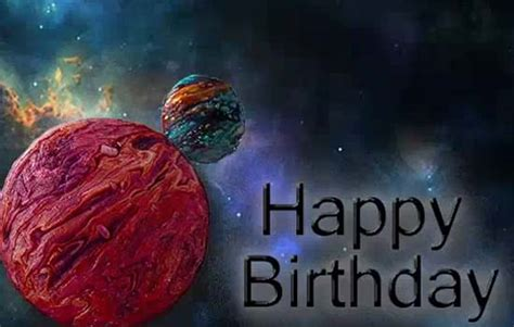 happy birthday  son cool planets   son daughter ecards