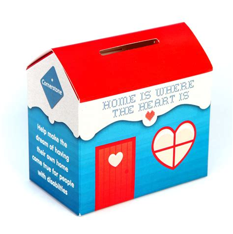 House Kennel Home Collection Boxes Printed Care