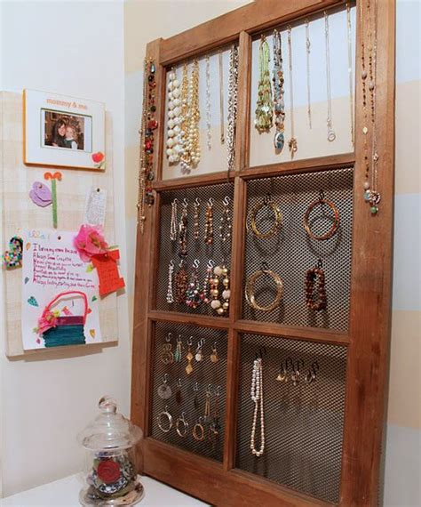 window pane jewlery orgainzer jewelry armoire jewelry