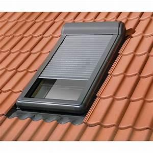 Volet Roulant Pour Velux : volet fen tre de toit roulant lectrique artens pour ~ Dailycaller-alerts.com Idées de Décoration