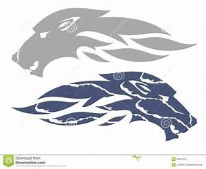 Symbole Du Loup : symbole de flamme de loup illustration de vecteur ~ Melissatoandfro.com Idées de Décoration