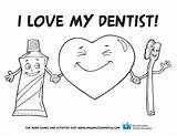 Dental Coloring Pages Teeth Health Tooth Hygiene Activities Preschool Month Sheets Sheet Office Activity Dentist Printable Practice Valentine Valentines Ids sketch template