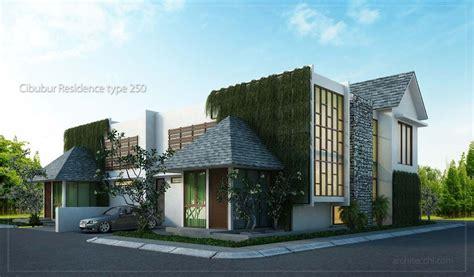 desain rumah sudut hook minimalis  lantai type