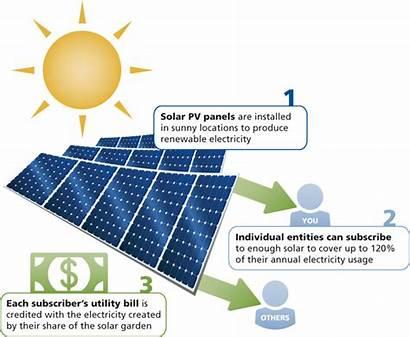 Solar Community Gardens Diagram Energy Works Electricity