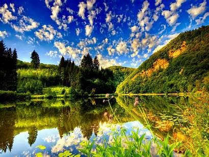 Summer 3d Nature Pixel Wallpapersafari Resolutions Lake
