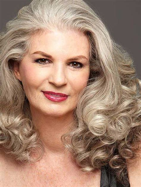 Gorgeous Looking Long Hairstyles for Older Women Ohh My My