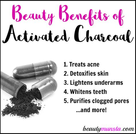 12 Beauty Benefits Of Activated Charcoal For Skin, Hair
