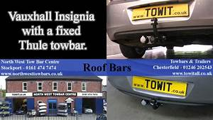 Vauxhall Insignia With Fixed Thule Towbar