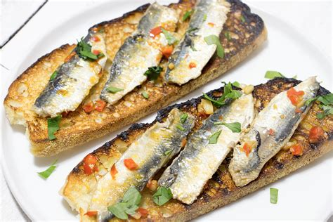 sardine cuisine pan fried sardine fillets on toast recipe from pescetarian