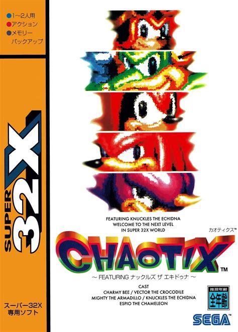 knuckles chaotix details launchbox games