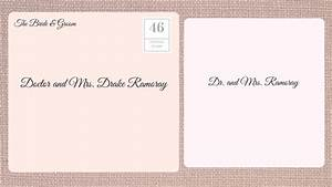 how to address wedding invitations southern living With wedding invitation address judge