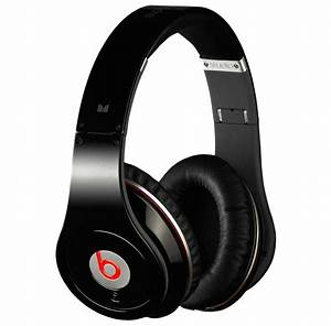 Beats by Dre Monster Studio headphones black