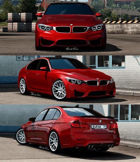 bmw m3 f30 bmw m4 bmw m3 f30 sedan package v1 0 1 28 x 187 ets2