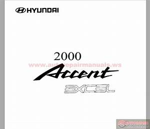 Hyundai Accent 2000 Body Repair Manual