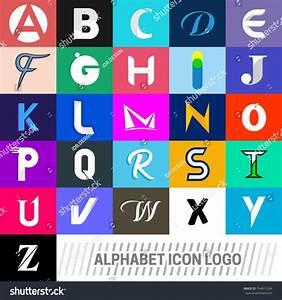 logotype alphabet icons logo