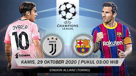 Link Live Streaming Liga Champions: Juventus vs Barcelona ...