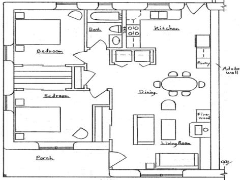 small floor plans small duplex house plans small two bedroom house plans