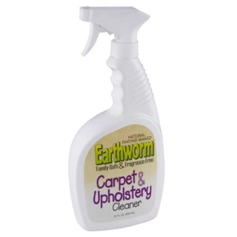 Upholstery Safe Cleaning Solvent by Earthworm Carpet Upholstery Cleaner Family Safe