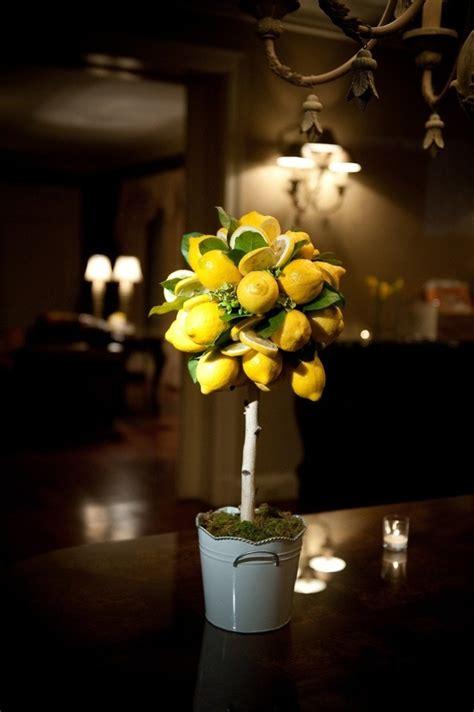 citrus centerpieces images  pinterest floral