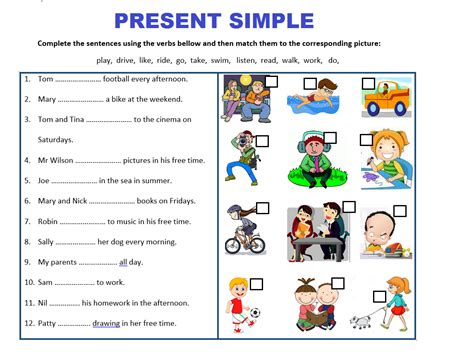 Present Simple Tense Worksheets Bundle  Save 75% By Mariapht  Teaching Resources
