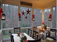 inspiring enclosed patio design ideas Enclosed Porch Decorating Ideas Charming