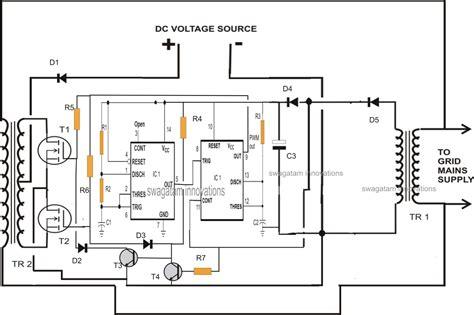Designing Grid Tie Inverter Circuit Diagram Centre