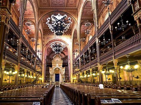 photo interior  dohany synagogue  budapest hungary
