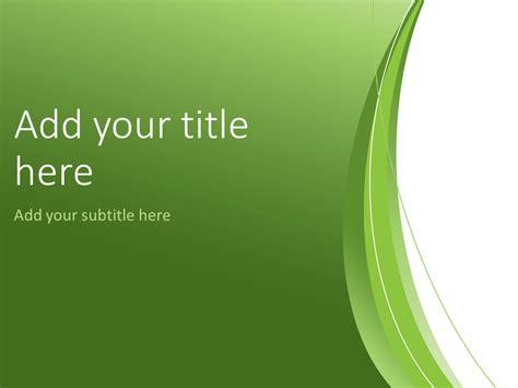 green abstract powerpoint template presentationgocom