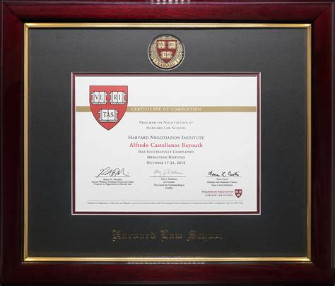 harvard law schoolmittufts premiere executive mediation