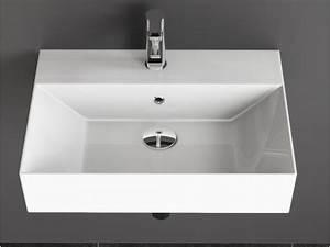 Naturstein Waschbecken Erfahrungen : design keramik waschbecken waschtisch 60x42 cm ~ Indierocktalk.com Haus und Dekorationen