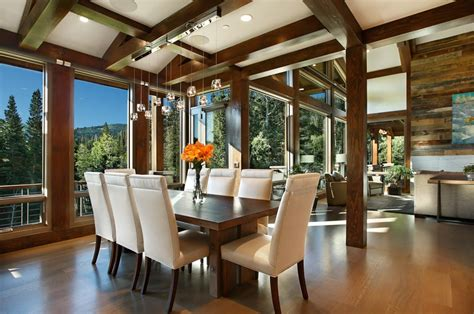 park city residence utah modern timber frame home
