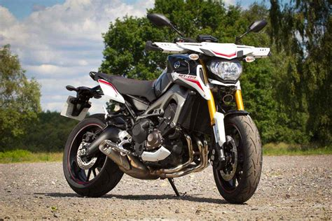 2014 Yamaha Mt09 Street Rally Review Morebikes