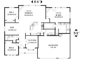 great room house plans one 2330 house plan information