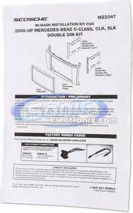 Scosche Mzb Double Din Installation Kit For Select