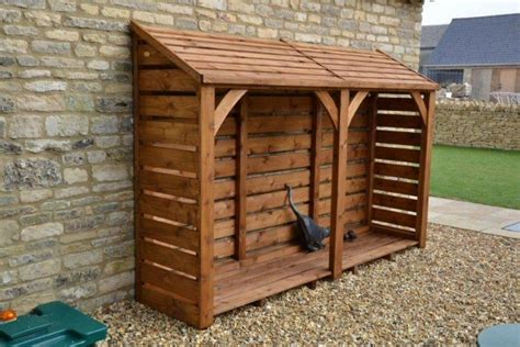 ft long  ft log store  delivered fully constructed