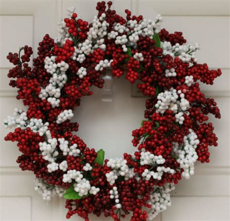 75 cheap easy diy christmas wreaths prudent penny pincher