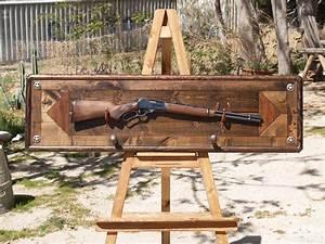 Custom Gun Rack by Art Of Wood CustomMade com