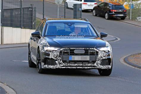2020 Audi Sport Quattro by 2020 Audi A6 Allroad Quattro Spied Testing With Mild