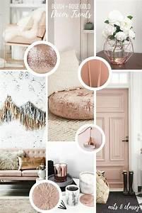 Rose Gold Decor : rose gold interior decor inspiration arts and classy ~ Teatrodelosmanantiales.com Idées de Décoration