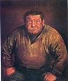 Portrait of Heinrich George, 1932 - Otto Dix - WikiArt.org
