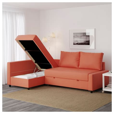 sofa with storage ikea friheten corner sofa bed with storage skiftebo dark orange